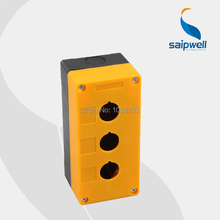 ABS Waterproof Button Switch Controlled Box 3 Holes Push Button Box 135 65 50mm
