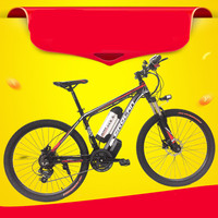 Oil Brake 26 Inch Mountain Bike Battery Car Modified Lithium Battery Electric Bicycle Disc Brake Moped
