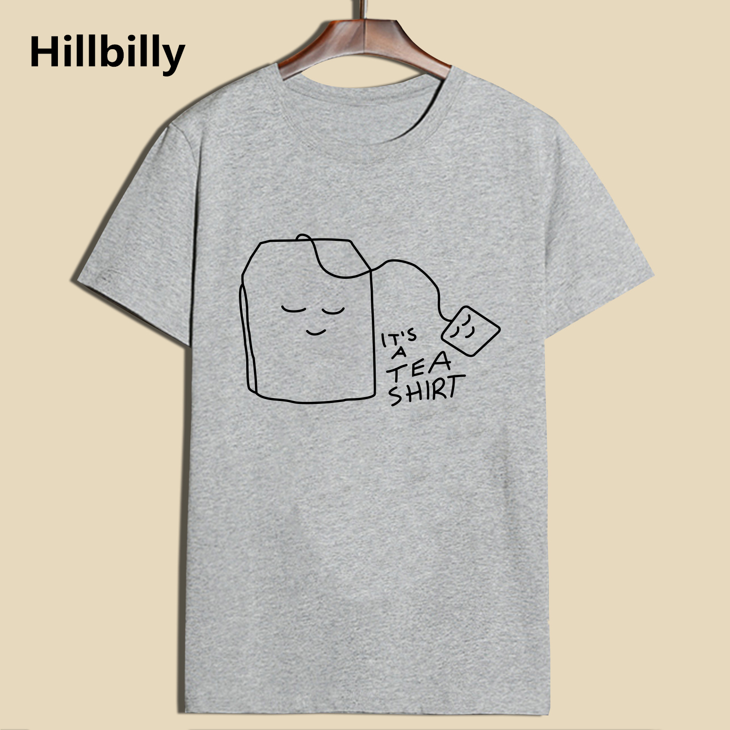 Hillbilly Men's   T  -  shirts   Funny Tea Printing   T     shirts   2017 Summer Cotton Short Sleeve O-Neck Male Casual Tees Size S-2XL