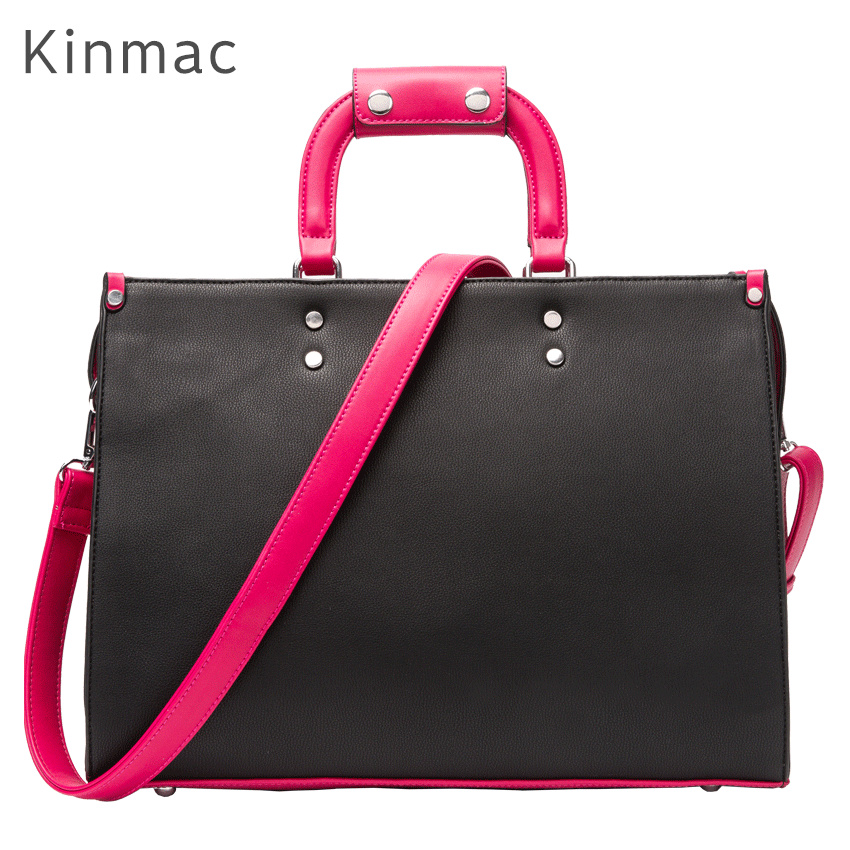2018 New Brand Kinmac PU Leather Handbag Messenger Bag For Laptop 13 inch, Case For MacBook Air,Pro 13.3,Free Drop Shipping 006