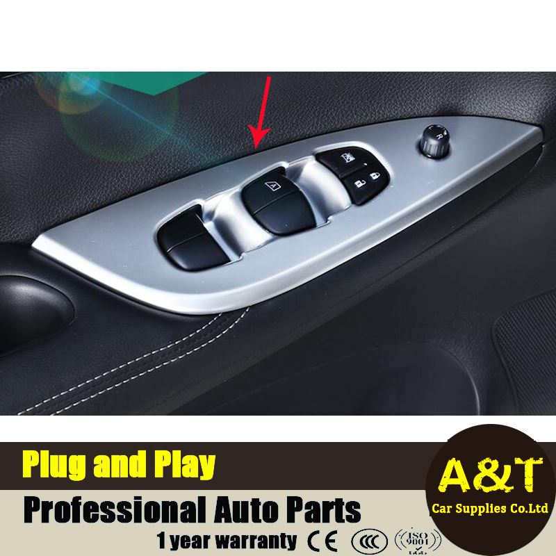 2016 2017 model font b car b font styling for Nissan Tiida high quality chrome Glass