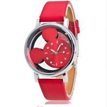 New Leather Fashion Brand Bracelet Watches KIDS boy girl Casual Quartz Watch Crystal Wrist Watch Wristwatch Clock Hour montre