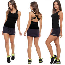 2016 new brand fashion women's Sexy crop Tops Sporting Back Cross Tank gym Fitness Top sportswear 3 Colors tanks & camis