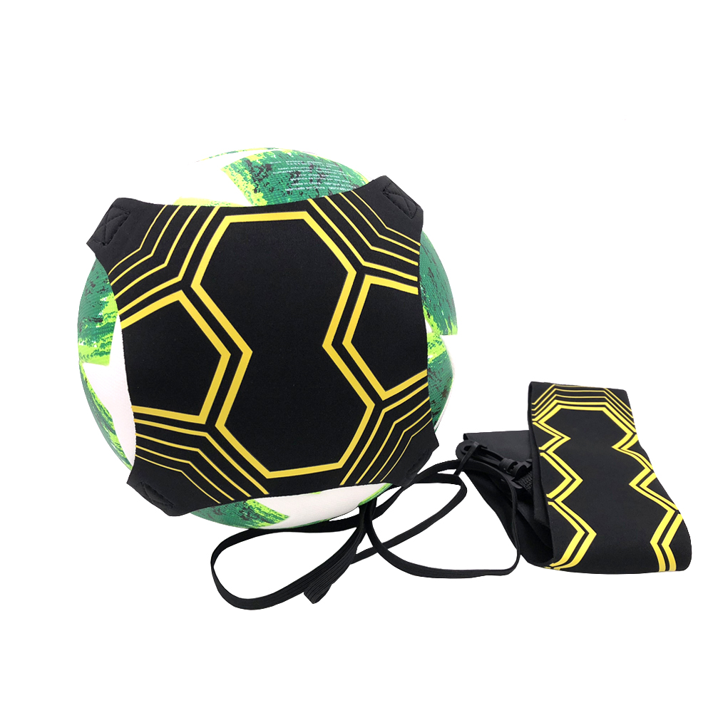 Neue Fußball Training Sport Unterstützung Einstellbar Fußball Trainer Fußball Ball Praxis Gürtel Training Ausrüstung Kick