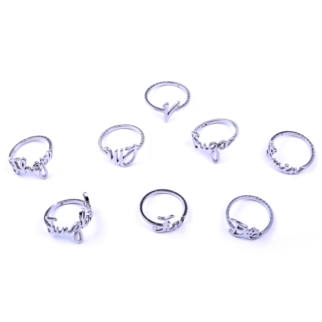 US $2 08 40% OFF|Youpop KPOP BTS Bangtan Boys SUGA V JUNGKOOK Name Album  Ring Jewelry Rings Accessories For Men And Women Female Male Boy Girl-in