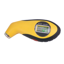 Free shipping, electronic digital car tire pressure gauge, hand-held tire pressure measuring instrument