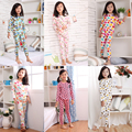 new spring and autumn boys girls pajama sets Long Sleeve children's sets  kids sleepwear cotton,Baby Girls Pajamas Sets
