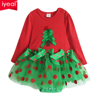 Free Shipping New Arrival 2013 Autumn Summer Baby Romper For Winter Child Christmas Style Rompers Long