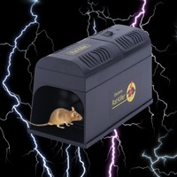 Reusable High Voltage Electronic Rat Trap Mice Mouse Rodent Killer Electric Shock Zapper Trap Pest Control Drop Shipping