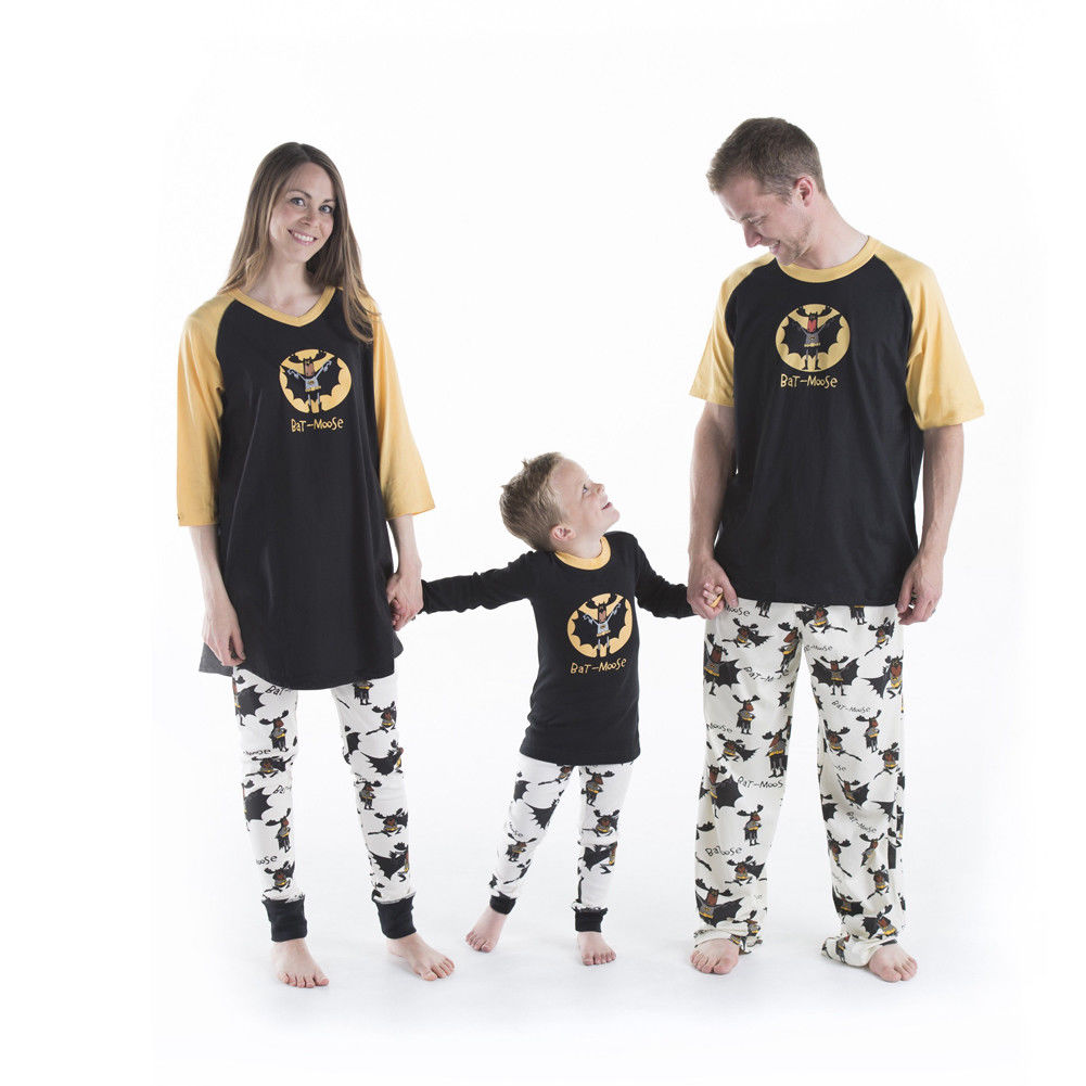 Christmas Family Matching Pajamas Set Women Mens Children Kids PJs Sets  Long Sleeve Cotton Sleepwear Nightwear Casual Clothes-in Matching Family  Outfits ... 1b58fb26b