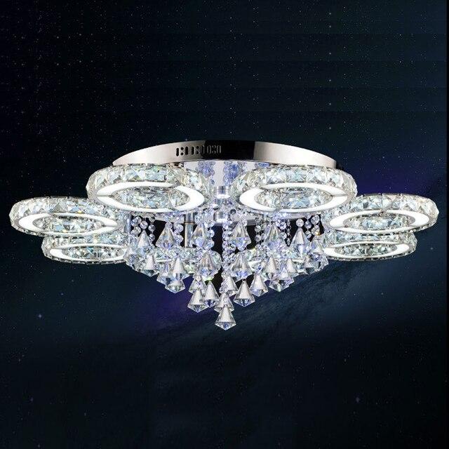 Moderne LED kristall decke lichter wohnzimmer schlafzimmer lampen ...