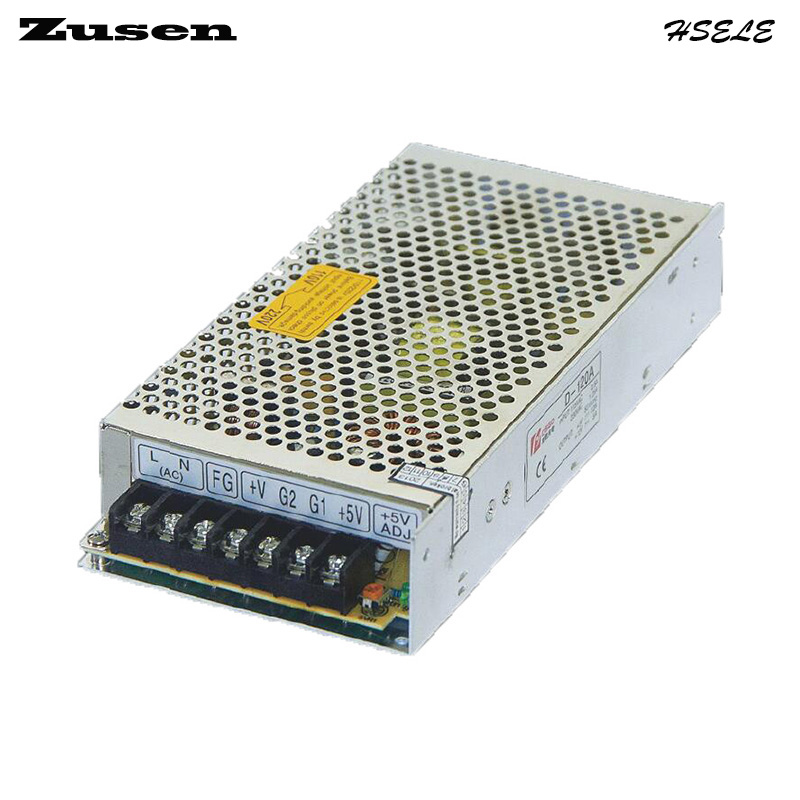 все цены на Zusen D120W-A  Dual Switch Power supply output 120w 110V/220VAC to 5~12VDC онлайн