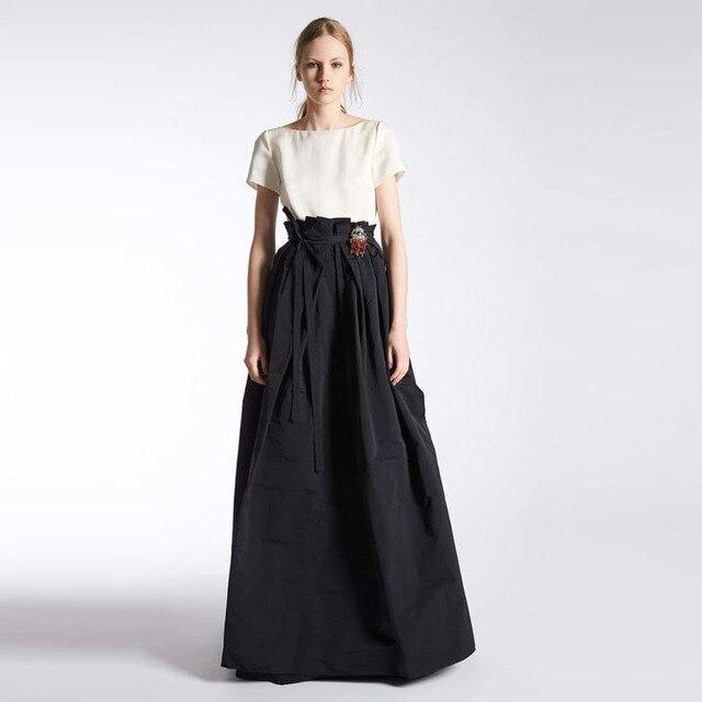 Aliexpress.com : Buy 2017 Fashion Black Formal Long Skirt for ...