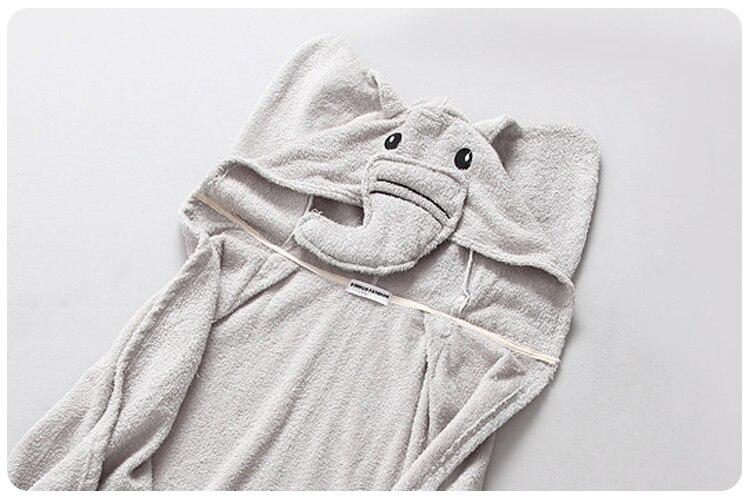 2016 Autumn New Childrens Garment Men Baby Cartoon Three-dimensional Even Home Furnishing Shawl Cloak Bathrobe Will Cloak