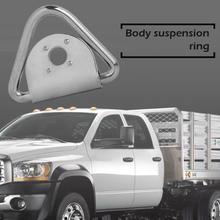 Связать вниз кольцо+ обманка 1433lbs крепления якорь для грузовика прицепа ван лодка лошадиный ящик Название продукта Крюк вес брутто 70 г