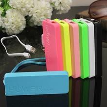 Portátil do Telefone Móvel de Portatil Ultra-fino Perfume Geral Power Bank Real 3000 MAH Bateria Externa Carregador