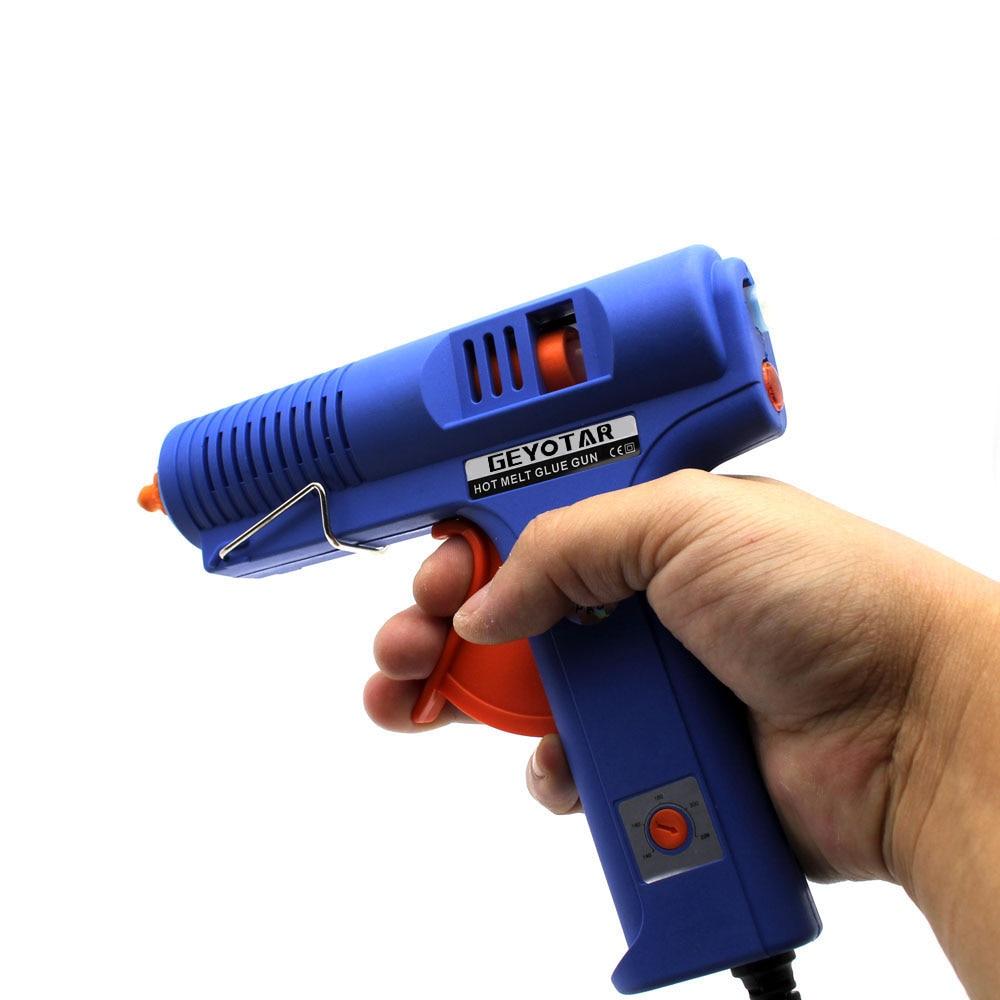 Pistola per colla a caldo hot plug 150W EU con strumento di - Utensili elettrici - Fotografia 6