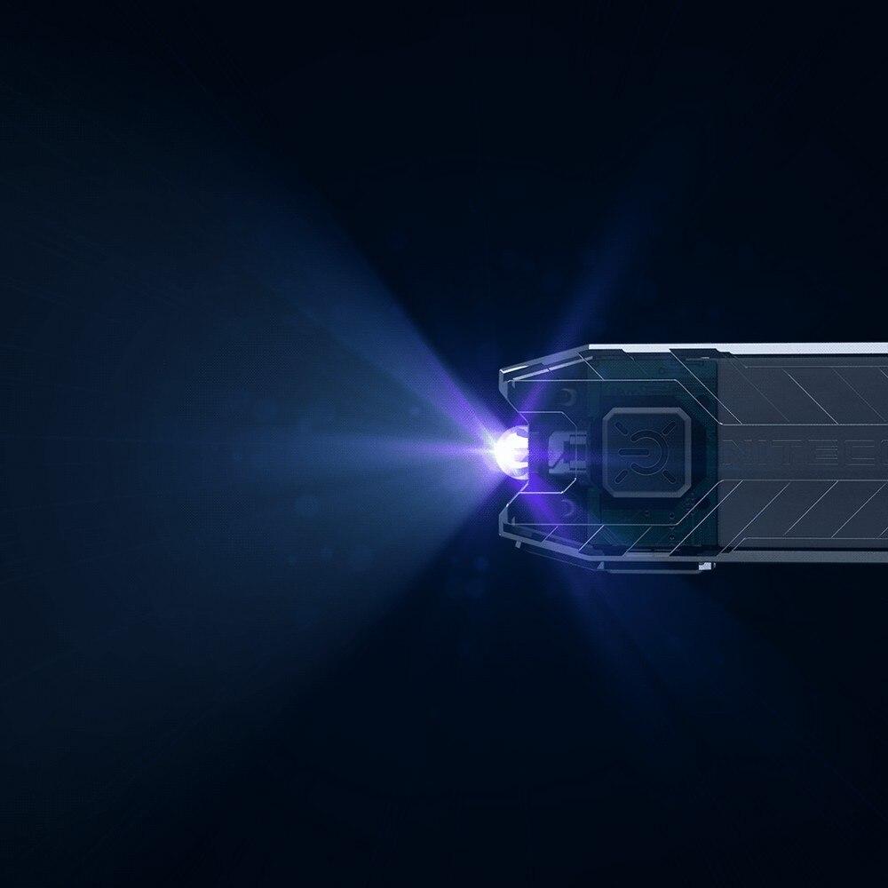 Nitecore Tube UV Ultra Violet 365nm 500mW Rechargeable USB Keychain Flashlight