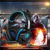 SADES SA 708GT New 3 5mm Pro Gaming Over Ear Noise Cancelling Headphone For Xbox 360