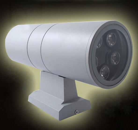 Preço de atacado 6 w/12 w/18 w/24/36 w conduziu a lâmpada de parede lado duplo para cima e para baixo luz de parede ao ar livre à prova dwaterproof água luzes varanda AC85-265V