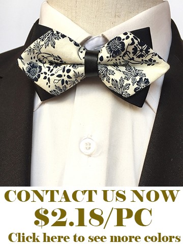 Flower bow ties for men2