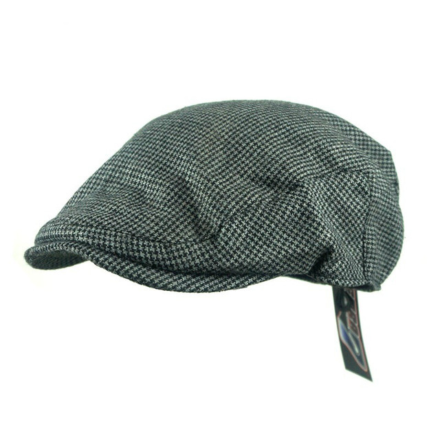3551c3af4 US $7.9 35% OFF|England Tweed Gatsby Newsboy Cap Men Berets Hat Peaky  Blinders Hat Cape Cap-in Berets from Apparel Accessories on Aliexpress.com  | ...