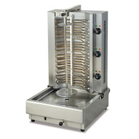 전기 회전 케밥 만드는 기계 전기 그릴 shawarma 기계 바베큐