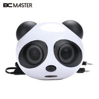 Panda Style Computer Speaker Sound Box Loudspeaker Notebook PC Desktop Jack 3 5mm 2 1