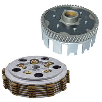 Motorcycle Clutch Friction DIsc Center Outer Clutch Assy for HAOJUE Suzuki HJ125K A GS125 GN125 EN125 125cc Spare Parts