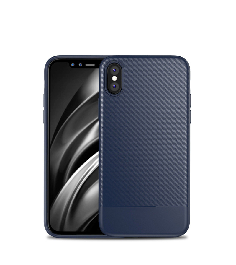 Lovebay Phone Case For iPhone 11 6 7 8 Plus Luxury Carbon Fiber Soft TPU For iPhone X XR XS 11Pro Max Case Shockproof Back Cover