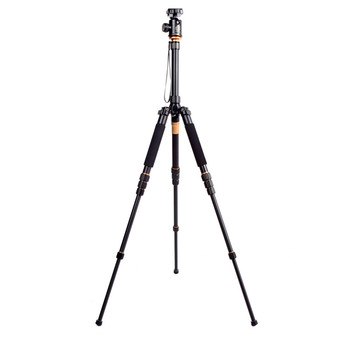 Professional Q-668 Pro Slr Camera Aluminum Alloy Traveling Tripod Monopod With QZSD-02 Changeable Portable Ball Head #20%