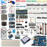 UNO R3 Starter Kits 1602 LCD MPU6050 Relay Module HC 05 bluetooth Board For Arduino