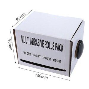 Image 2 - Rolo macio da lixa das correias de moedura dos pces 25mm * 6m da correia 4 de lixamento de pano de emery da lixa para os turners de madeira, automotivo