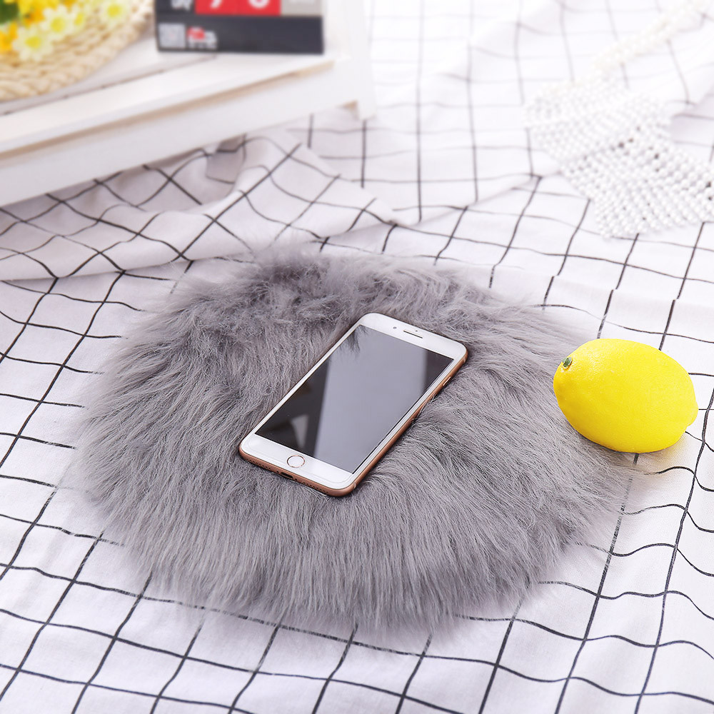 Faux Fur Rugs For Living Room Bedroom Soft Artificial