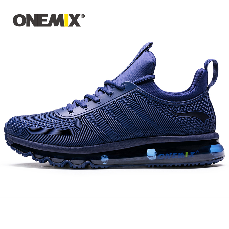 Onemix Running Shoes for Men High Top Air Cushion Sports Shoes Breathable Men Sneakers for Outdoor