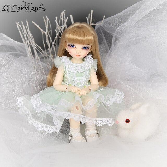 Free Shipping Fairyland Littlefee Reni BJD Dolls 1/6 Fashion Resin Figure High Quality Toy for Girls Oueneifs Dollshe Iplehouse 4