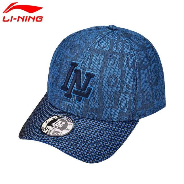 Li-Ning Unisex Breathable Baseball Running Caps 100% Polyester Comfort Visor  Sun-Protective Hat LiNing Urban Sports Hats AMYM094 b14166817d1
