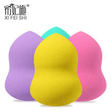 Wholesale Top quality 4pc Makeup Sponge Makeup Cosmetic puff Flawless Powder Smooth Beauty Cosmetic make up sponge beauty tools 9 colors cheap 50pcs flawless beauty cosmetic makeup sponge wholesale blender powder foundation smooth type