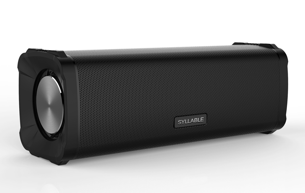 Syllable X2 TWS Wireless Bluetooth Speaker Portable Dual Waterproof Loudspeaker System with microphone for music and phone call high power loudspeaker voice amplifier bluetooth portable led light sound box speaker with microphone radio usb mp3 music player