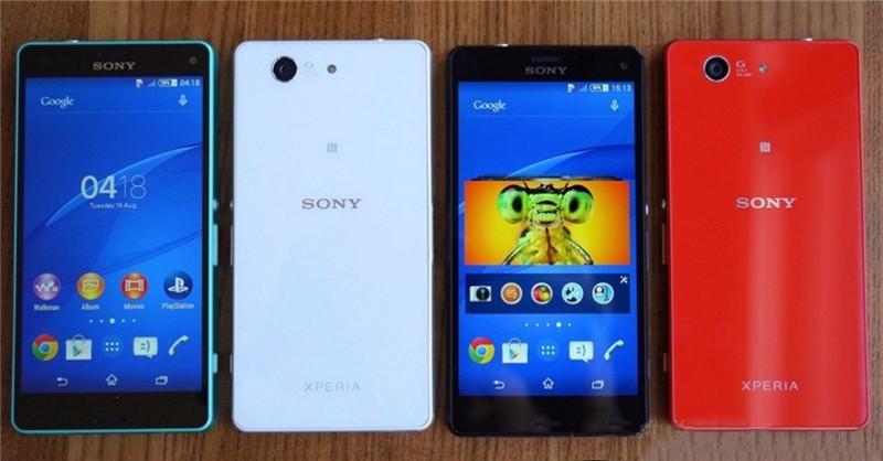 Смартфон sony Xperia Z3 Compact D5803 разблокированный 4G LTE Z3 mini Android четырехъядерный 4,6 дюймов 16 Гб wifi gps мобильный телефон