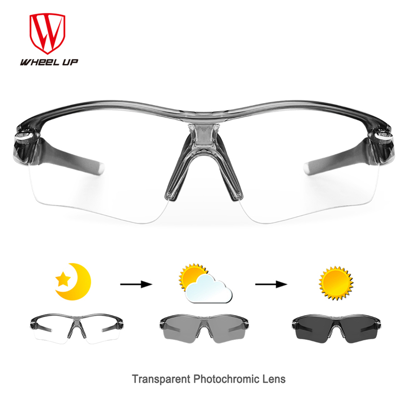 8b7afb490c Wheel Up Photochromic Cycling Glasses Men Women Sports Sunglasses Mountain  Road Bike Bicycle Riding Eyewear Goggles 3 In 1 Lens-in Cycling Eyewear  from ...
