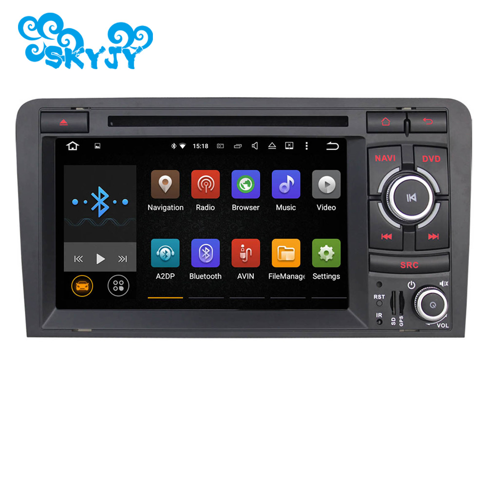 7 inch car stereo radio gps navigation for audi a3 8p 8pa. Black Bedroom Furniture Sets. Home Design Ideas