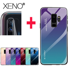 Case For Samsung A50 Protective Glass On Screen Protector Safety Film Lens
