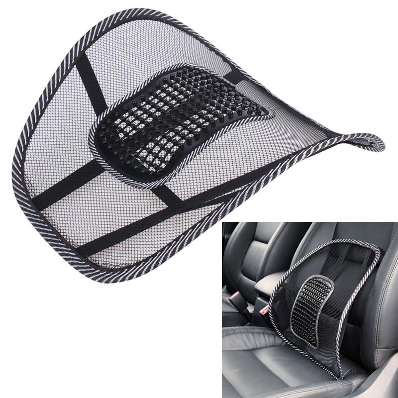37*42cm Car Seat Cushion BUH9 Mesh Cloth Car Seat Support Cushion Lumbar Waist Back / Pillow for universal cars home office