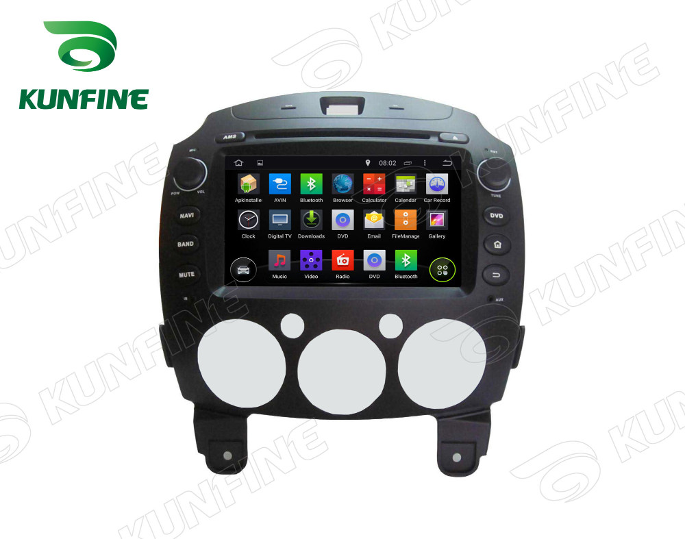Car dvd GPS Navigation player for MAZDA 2 2010-2012 A