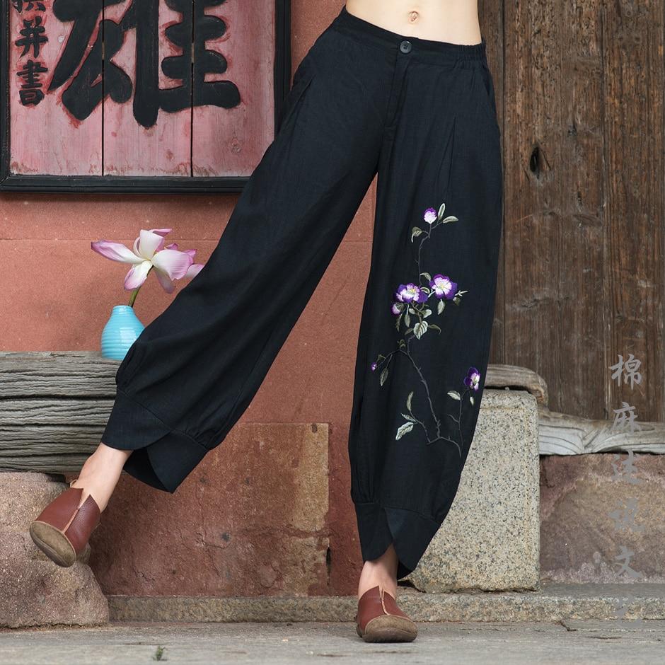 67872eddc1 Haoduoyi-Fashion-Ladies-Loose-font-b-Pants-b-font-font-b-Black-b-font-font-b  pantalones anchos aliexpress