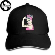SAMCUSTOM Four Seasons Universal Casual Cap Summer sunshade Creative Pink  Breast Cancer Awareness Spread 3D Visors Sandwich Cap 8a857fc210b