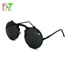 F.J4Z Fashion PunK Men's Round Sunglasses Round