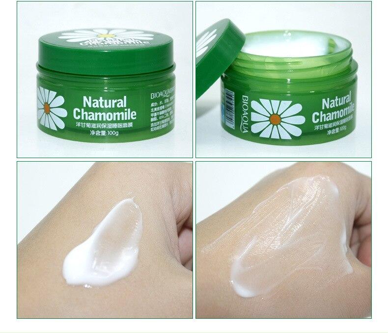 Bioaqua tratamiento Manzanilla máscara para dormir hidratante blanqueamiento de