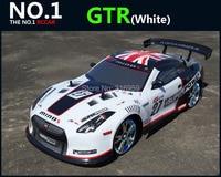 Große 1:10 RC Auto High Speed Racing Auto 2,4G GTR 4 rad Stick Radio Control Sport Drift Racing Car Model elektronische spielzeug